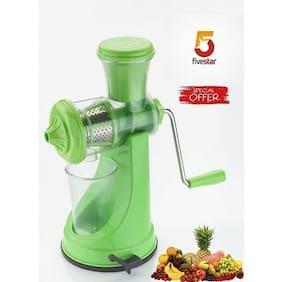 SRK Deluxe Fruits & Vegetables Juicer - Assorted Colors
