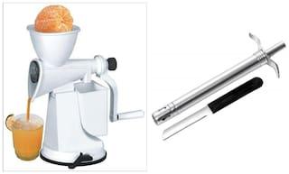 SRK Fruit Juicer With Freebie Gas Lighter With Knife