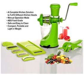 SRK Elegant Juicer & Slicer Combo + Free Multi Cutter with Peeler