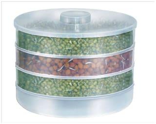 SRK Internationals Ganesh 4 Compartment Sprout Maker