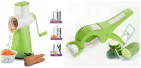 SRK Kitchen Combo Rotary Graters & Slicers + Multi Vegetables Cutter Cum Peeler