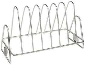 SM Plate Stand, Rack & Holder (Silver)