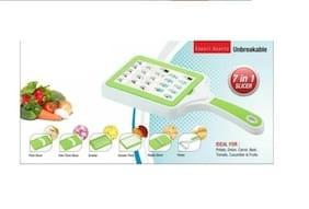 SRK Raju 7 In 1 Vegetable Slicer & Grater - Assorted Colors