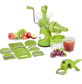 SRK Royal Kitchen Combo Grand Juicer With Free 6 In 1 Slicer & Multi Veg Cutter