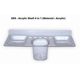 SSS - Acrylic Shelf 4 in 1 (Material : Acrylic)
