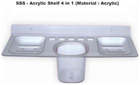 LOGGER - Acrylic Shelf 4 in 1 (Material : Acrylic)