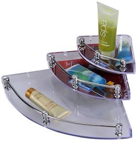 LOGGER - Transparent Acrylic Corner Set - Set of 3 pcs