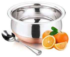 Stainless Steel Copper Base Cookware NM-09 Handi With Spoons