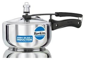 Hawkins Stainless Steel 2 L Induction Bottom Inner Lid Pressure Cooker - Set of 1 ,