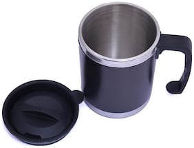 Stainless Steel Travel Mug with Sipper Lid;350ml (Assorted Colors)