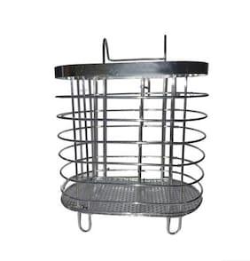 Stainless Steel Spoon Steel Stand / Chopsticks Rack / Spoon Holder / Fork Holder / Knife Drainer / Steel Basket / Storage Drainer