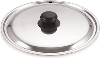 Stainless Steel Dome Lid // CHEF DIRECT // Cover with Knob for Pot;Pan;Bowl (26 cm)