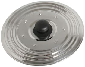 Stainless Steel Multipurpose Lid//CHEF DIRECT//Cover for Pots;Bowls;Pans with Konb  (20 cm Multipurpose)