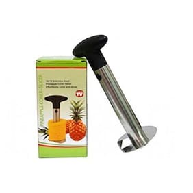 Stainless Steel Pineapple Corer - Hassle free pineapple peeling and slicing