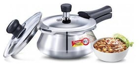 Prestige Deluxe Alpha Stainless Steel 1.5 L Induction Bottom Outer Lid Pressure Cooker - Set of 1 ,