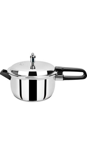 Pristine Induction Base Stainless Steel Pressure Cooker (5 Ltr)