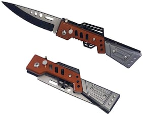 Stainless Steel Foldable Pocket Knife/Cooking and Kitchen/Travelling & Camping Outdoor Swiss Army Knife