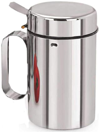 Stainless Steel Oil Dispenser/Pourer/ Can/Dropper/ Bottle (1000 ML)
