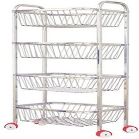 Stainless Steel Fruit Trolley