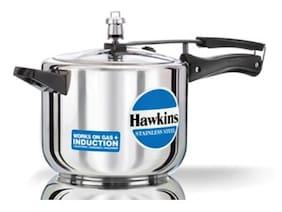 Hawkins Stainless Steel 5 L Inner Lid Pressure Cooker - Set of 1