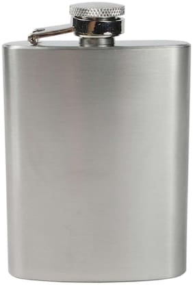 Stainless Steel Hip Flask for Men (Pack of 1)