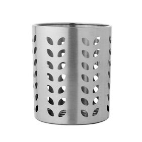 Stainless Steel Leaf Hole Cutlery Holder