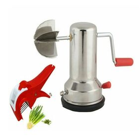 Stainless steel Coconut Scraper/Grater With Vegetable Stepler Cutter