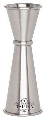 Stainless Steel Double Side Peg Measure Cocktail Measuring Bar Tool 30/60ml