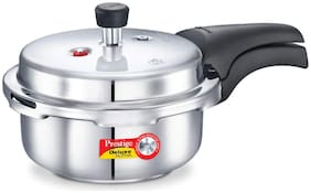 Prestige Deluxe Alpha Stainless Steel 3.5 L Induction Bottom Outer Lid Pressure Cooker - Set of 1 ,