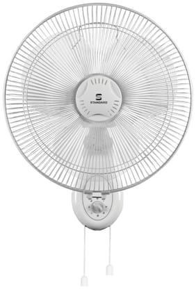 Standard Alfa Wall 400 mm Decorative Ceiling Fan ( White , Pack of 1 )