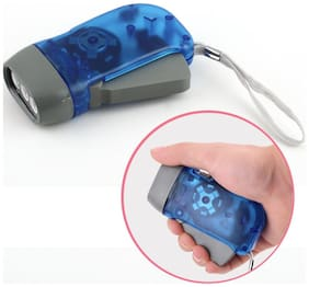 Star Angel Hand Pressing Flash Light - No Battery No Bulb, Simply Shake to Recharge