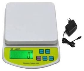 Starvis Digital Kitchen weighing Scale Electronic Digital 10 kg weight machine with charger