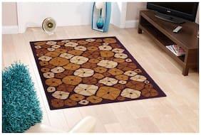 Status Brown Ermina Medium Drawing Room Carpet- 1 pc
