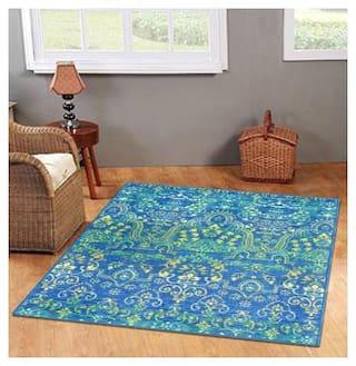 Status Green Nylon Carpet (121 cm X 182 cm)