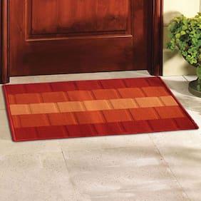 Status Orange Iris Medium Door Mat