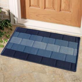 Status Blue Iris Medium Door Mat Set