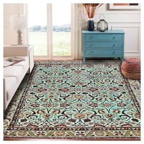 Status Multicolor Polypropylene;Blended Area Carpet (121.92 cm X 182.88 cm)