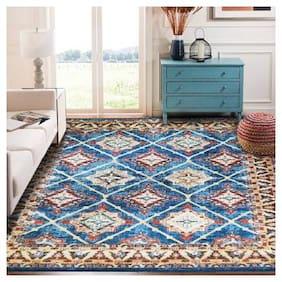 Status Multicolor Polyester Carpet (91 cm X 153 cm)