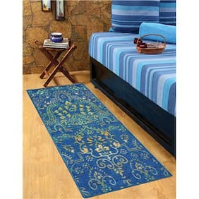 STATUS NYLON BEDSIDE RUNNER BLUE 22X55 1PC