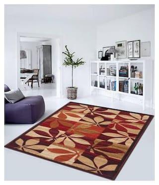 Status Red Nylon Carpet (121 cm X 182 cm)