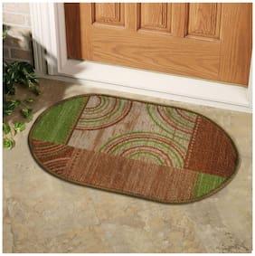 Status Green Taba Oval Medium Floor Mat- 1 pc