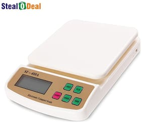 Stealodeal 10kg Digital Multi-Purpose Kitchen Weighing scale