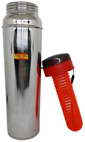 steel Bottle with fruit infuser 1000 ml