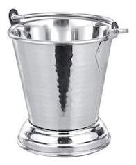 Steel Bucket Balti;For Serving Dishes;Curry Bucket/Daal Balti (1000 ml)