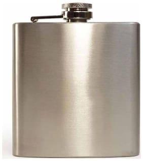 Steel Hip Flask 255.14 g (9 OZ)