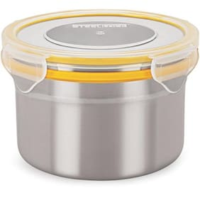 Steel Lock Airtight Storage Containers 600 ml 2 pc 1303 Container Set