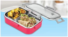 Meenamart Multi Lunch box ( Set of 1 , 650 ml )