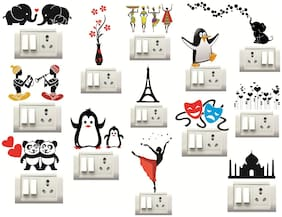 STICKER STUDIO Wall sticker ( Set of 13 )