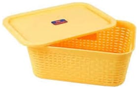 Storage Container Basket/Roti Basket/Chapati Basket/Roti Box/Container Box/Decorative Container/Eco Friendly Basket with Lid