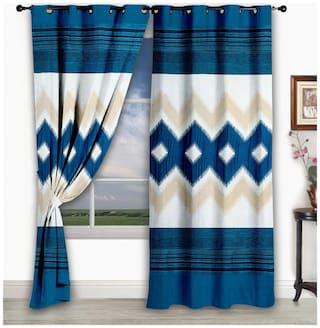 Story@Home Classic Window 1 pc curtain - 5 ft (118 cm X 152 cm)